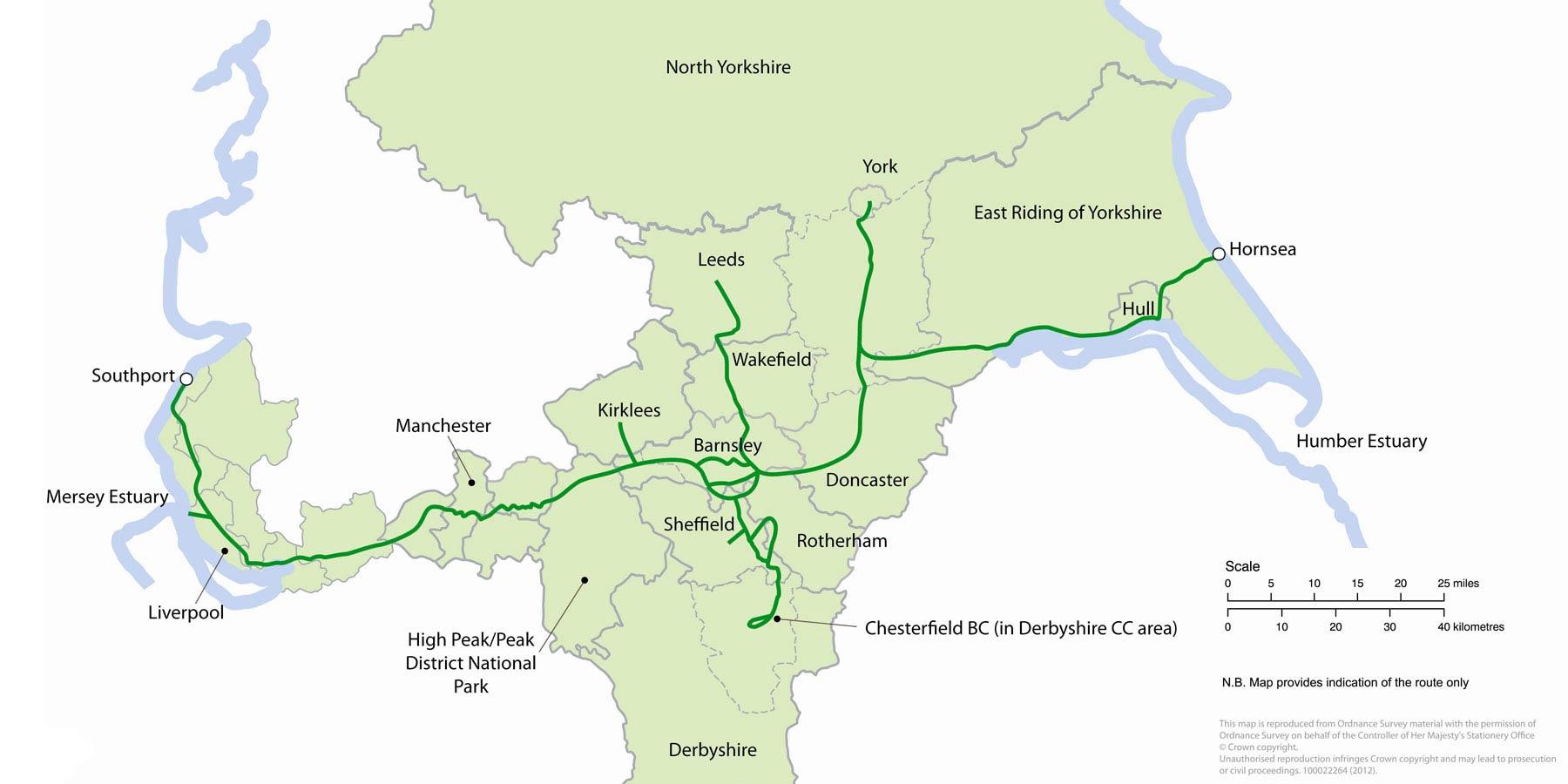 Trans Pennine Trail - Official Website