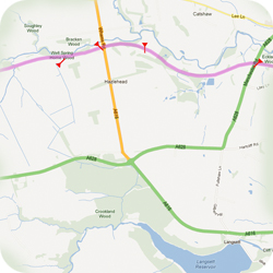 Trans Pennine Trail maps
